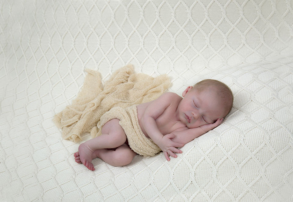 A baby photography image from Surrey
