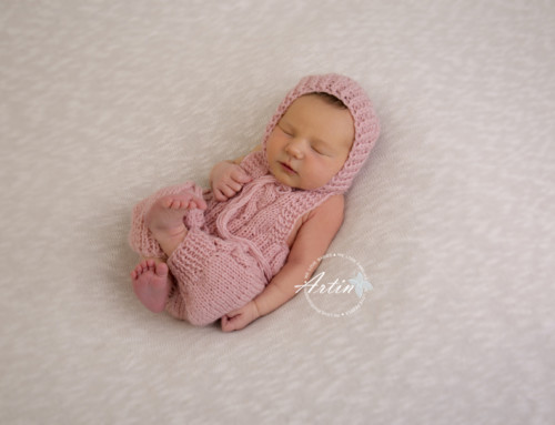 Newborn Photography Session – Liliana