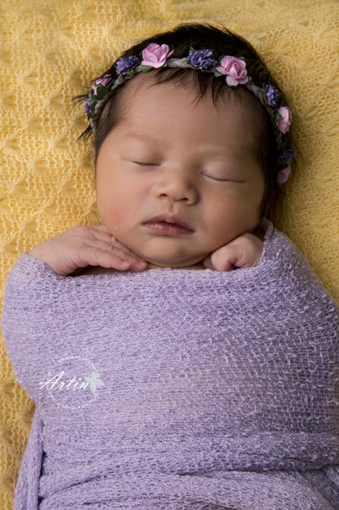 Newborn Photography & Cake Smash - Aria
